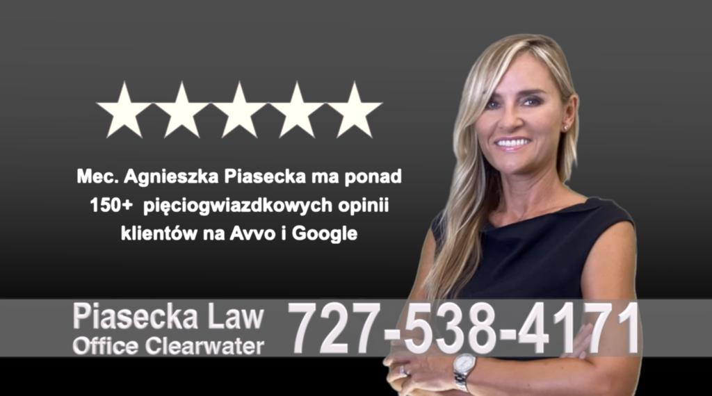 Divorce Immigration Clearwater, agnieszka-aga-piasecka-polish-lawyer-attorney-opinie-klientow-best-najlepszy-polskojezyczny-prawnik-polski-adwokat-florida-floryda-usa